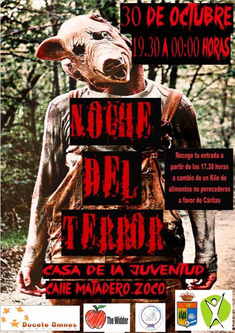cartel noche del terror 2014
