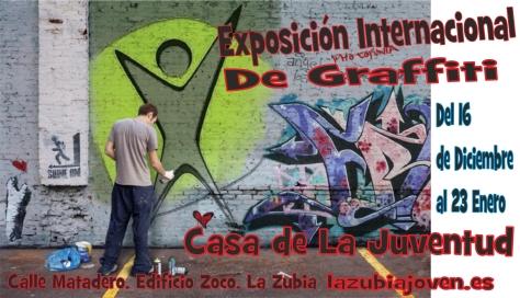 cartel exposicion internacional de graffiti