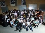 los jóvenes voluntarios de la noche del terror