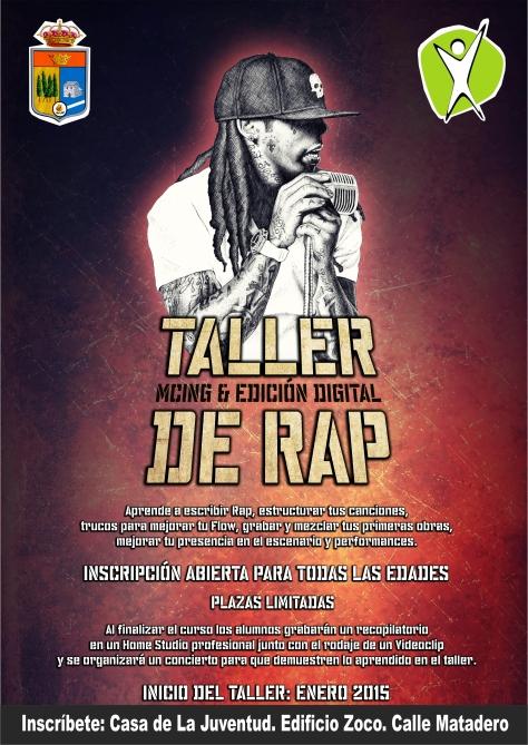 cartel taller de rap