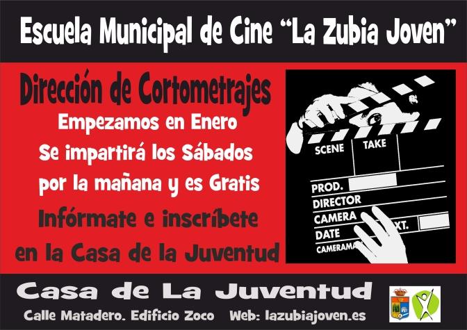 """Escuela Municipal de Cine """"La Zubia Joven"""". Curso Dirección de Cortometrajes"""