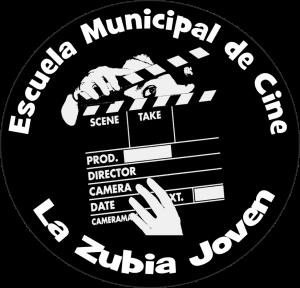 logo escuela municipal de cine la zubia joven.....