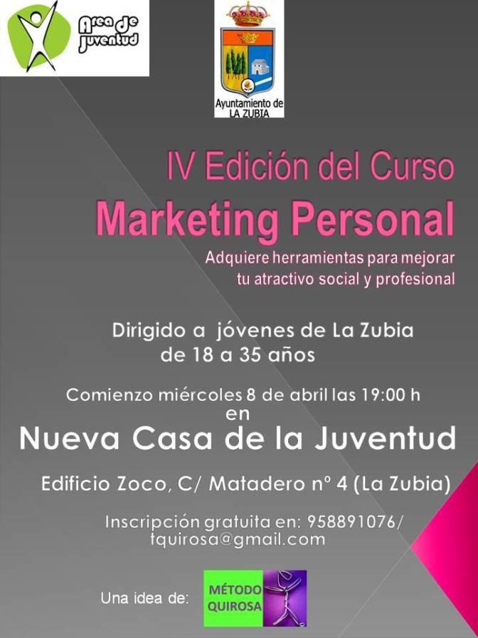 IV Edición del curso Marketing Personal