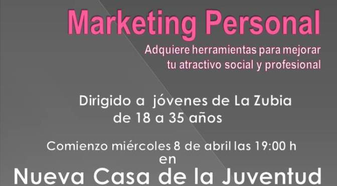 IV Edición del curso Marketing Personal