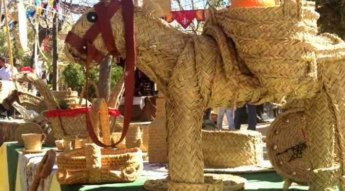 Artesanía de Luis Sánchez en la Feria Medieval