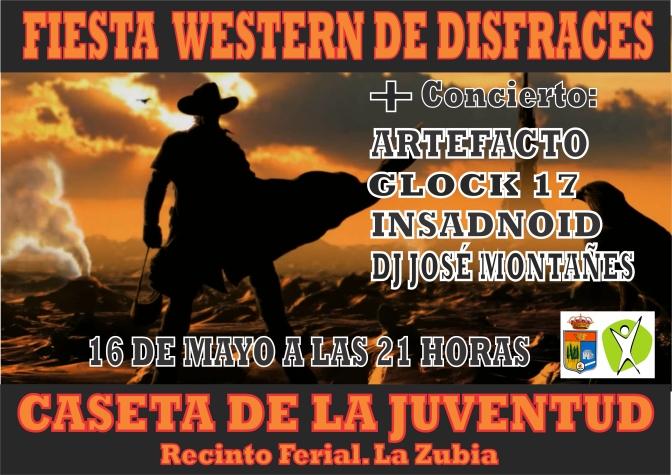 Fiesta Western de Disfraces + Concierto