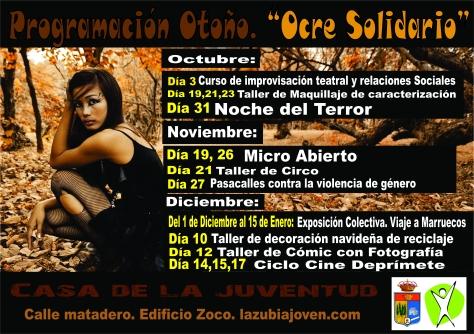 cartel otoño de otoño 2