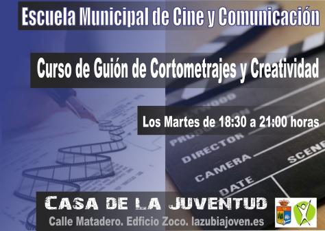 cartel guion corotometrajes