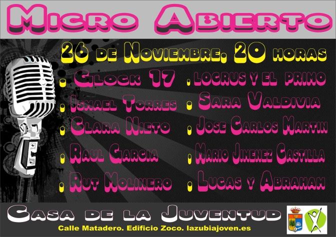 Micro Abierto!!!!!!