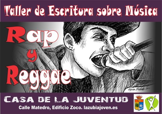 TALLER DE ESCRITURA SOBRE MUSICA , RAP, REGGAE
