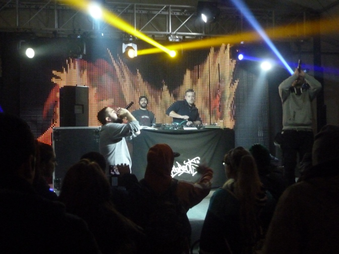Fotos del Persé-Rap Festival