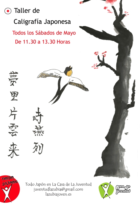 Poster Todo Japón de Aleixandra del curso de comic
