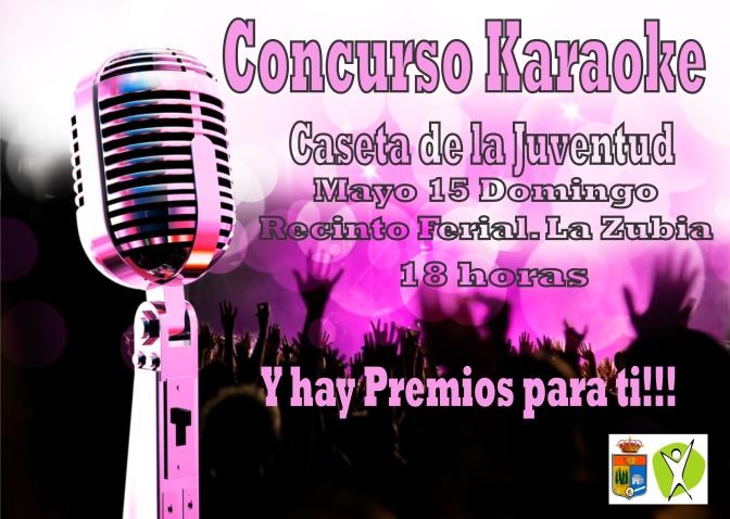 Concurso Karaoke en Fiestas……