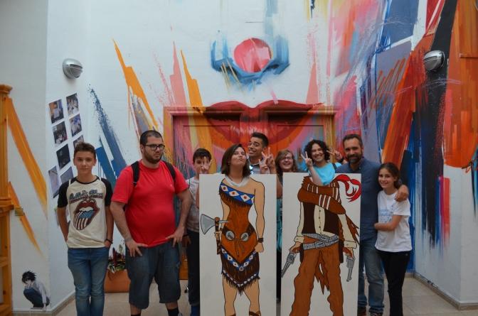 Inauguración del curso y de la exposición de Cómic