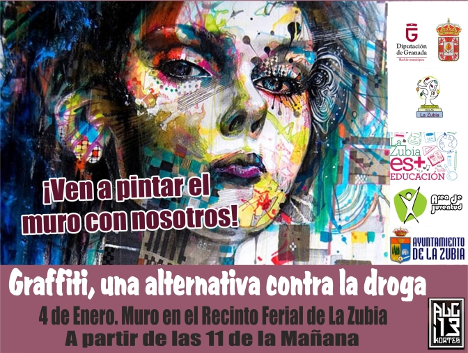 El Graffiti, una alternativa contra la droga