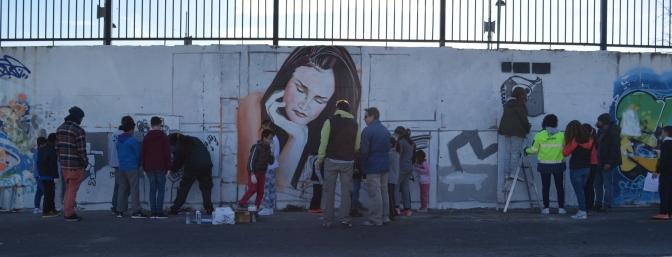 graffiti contra la droga