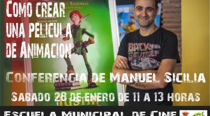 Conferencia de Manuel Sicilia en la Escuela de Cine