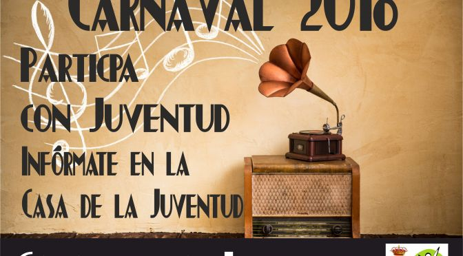 Participa en los Carnavales
