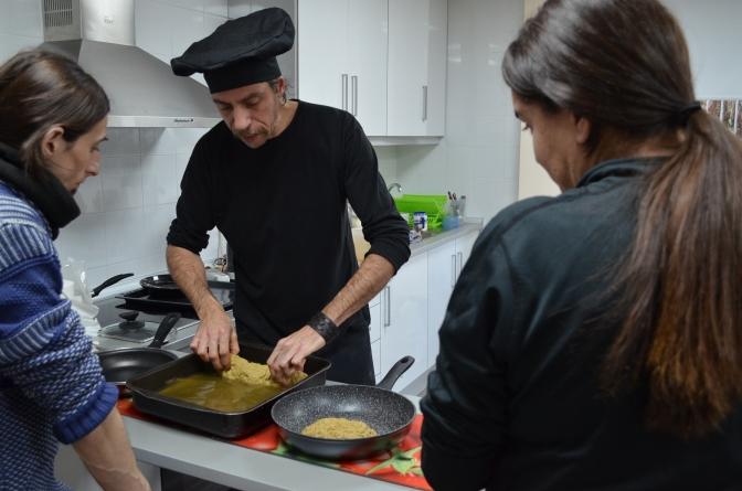 Inauguramos el curso de cocina vegana