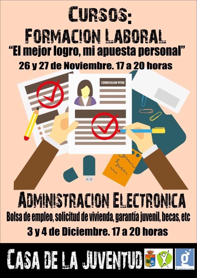 Curso de Formación Laboral y Administración Electrónica