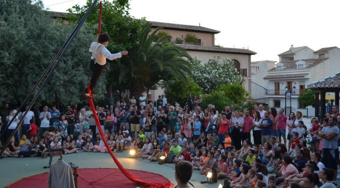 Teatro en La Calle. La Zubia
