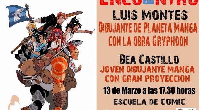 Luis Montes y Bea Castillo en la casa de la juventud